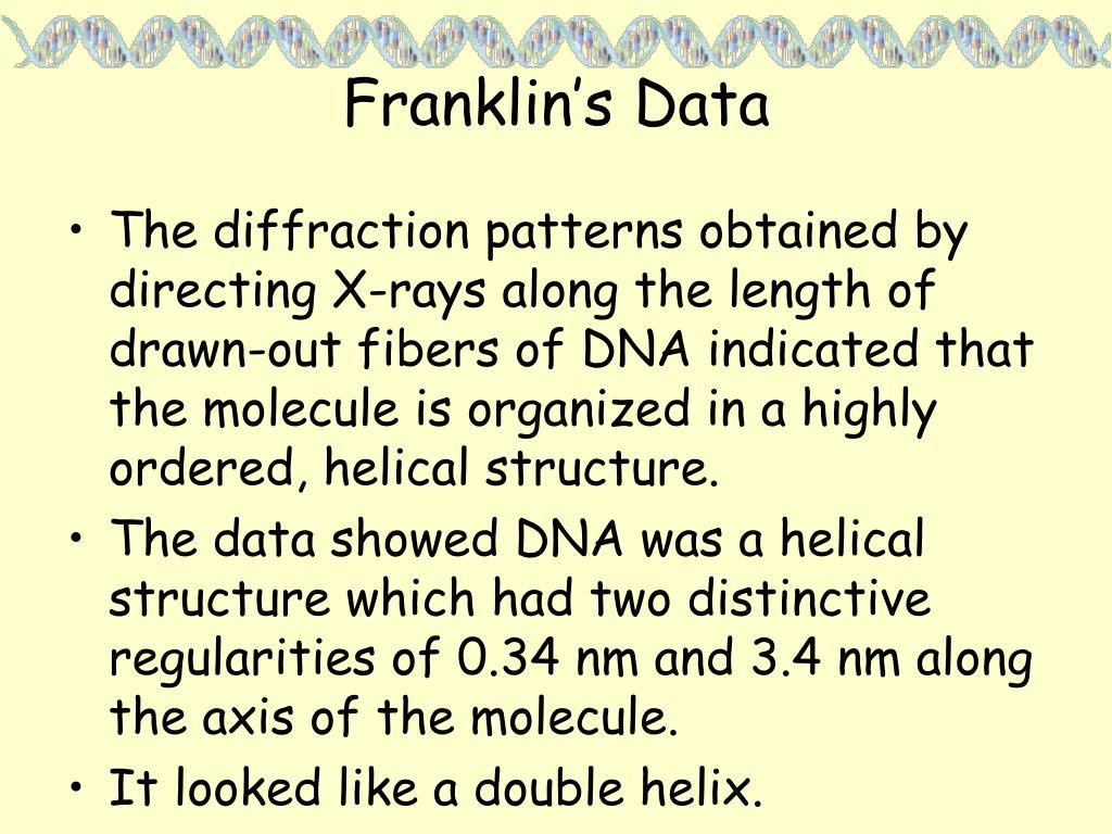 Franklin's Data