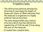 franklin s data