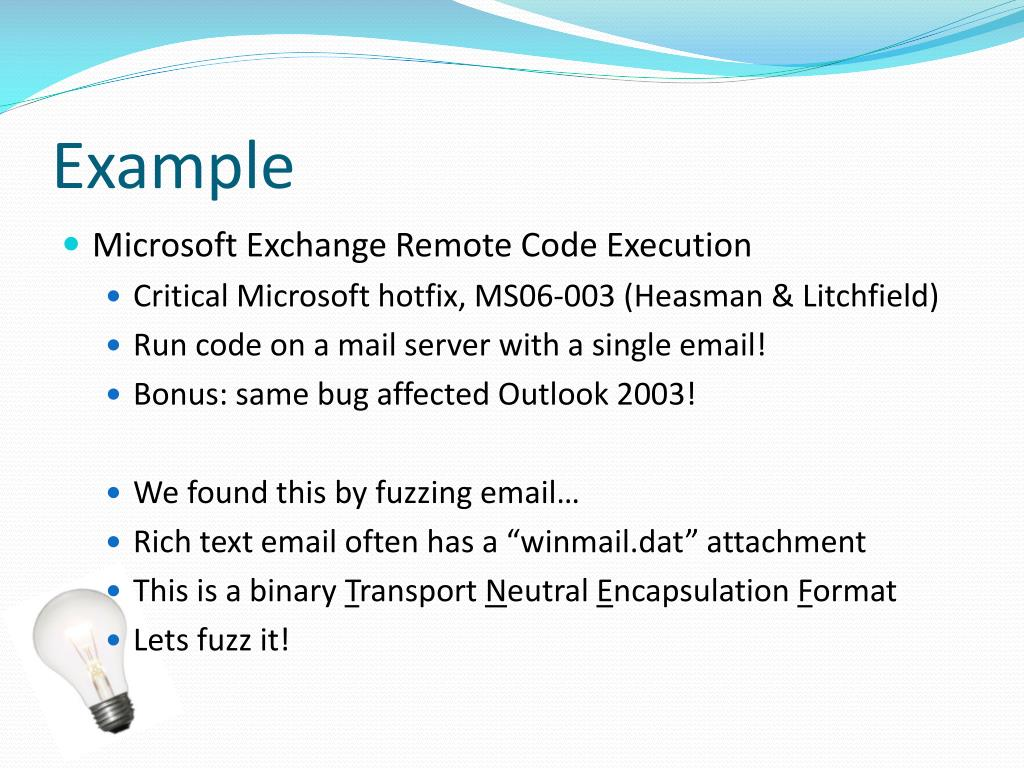 PPT - Fuzzing for Security Flaws PowerPoint Presentation