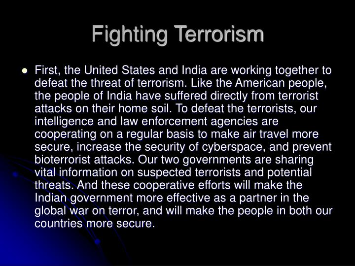 the impact of fighting terrorism on our right to privacy The terrorist has a distinct advantage in that they only have to be right once, while the opponent one reason that the war on terrorism is so difficult to fight is because many of the terrorist cells war on terror is very hard to fight for multiple reasons first, the global separation of terrorist cell are.