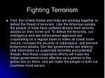 fighting terrorism