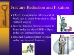 fracture reduction and fixation