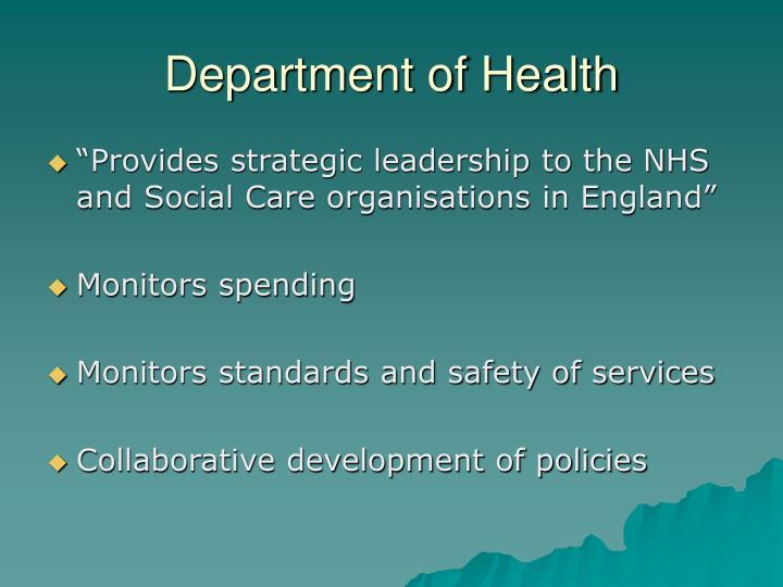 Department of Health