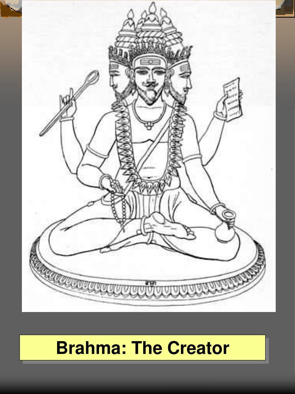 Brahma: The Creator