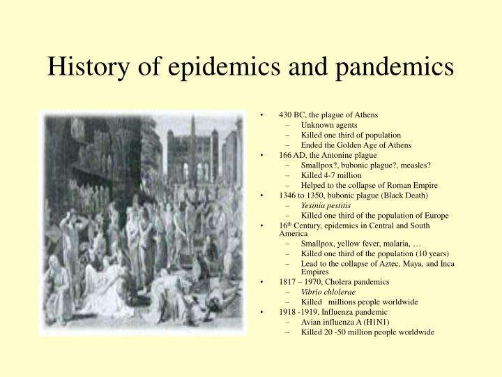 epidemics along with pandemics