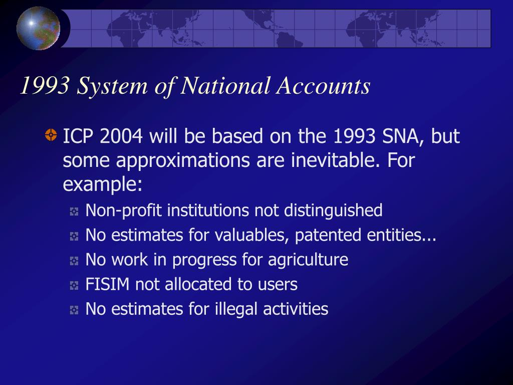 1993 System of National Accounts
