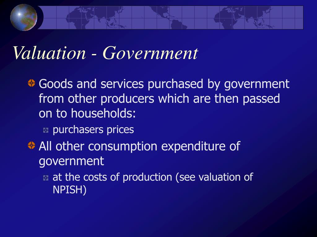 Valuation - Government