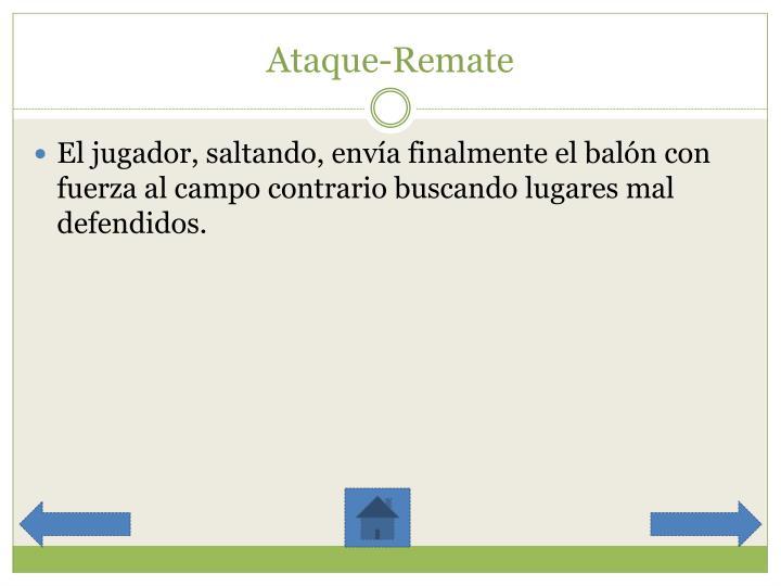 Ataque-Remate