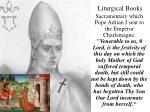 liturgical books