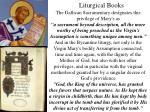 liturgical books21