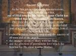 sacred scripture29