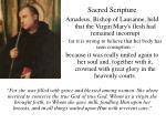 sacred scripture33