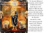 st john of damascus p g i 96 thus formulates the tradition of the church of jerusalem