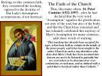 the faith of the church40