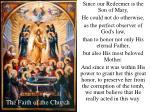 the faith of the church42