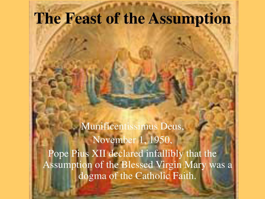 the feast of the assumption l.