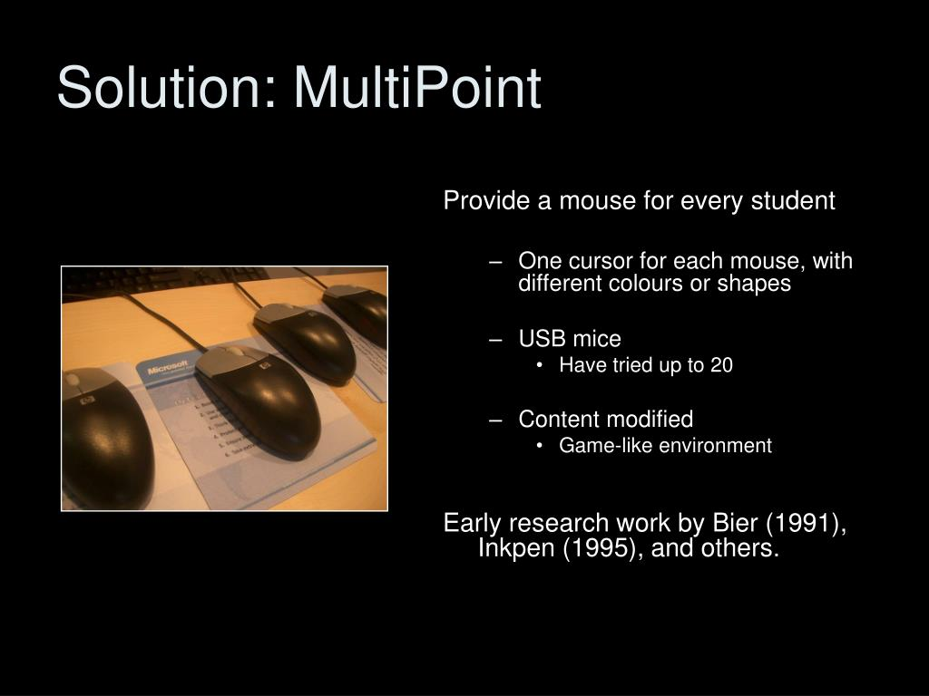 Solution: MultiPoint