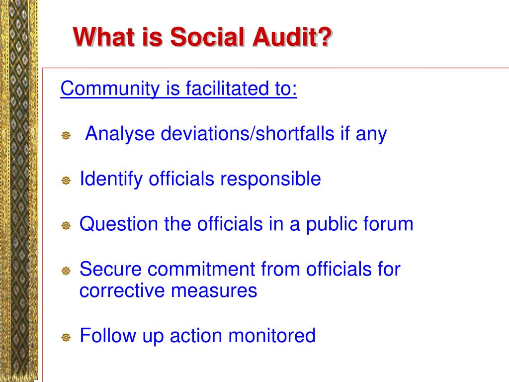 What is Social Audit?