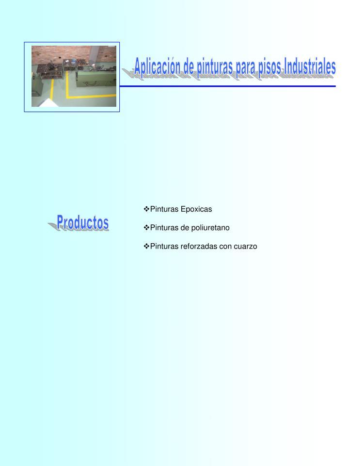 Aplicación de pinturas para pisos Industriales