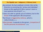 the elgafaji case judgment 17 february 20098