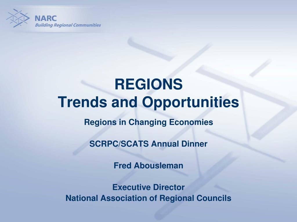 regions trends and opportunities l.