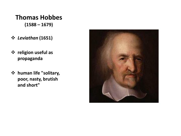 thomas hobbes essay example