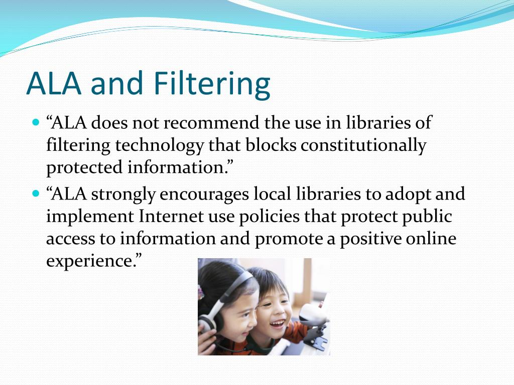 ALA and Filtering