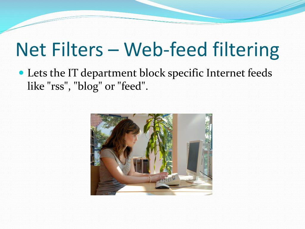Net Filters – Web-feed filtering