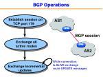 bgp operations