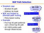 bgp path selection