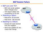 bgp session failure