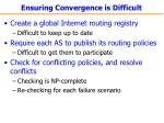 ensuring convergence is difficult