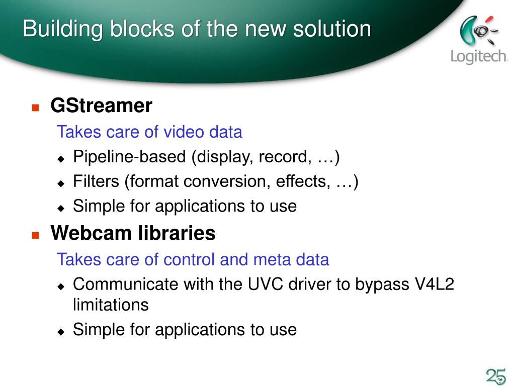 PPT - Building a Webcam Infrastructure for Linux PowerPoint