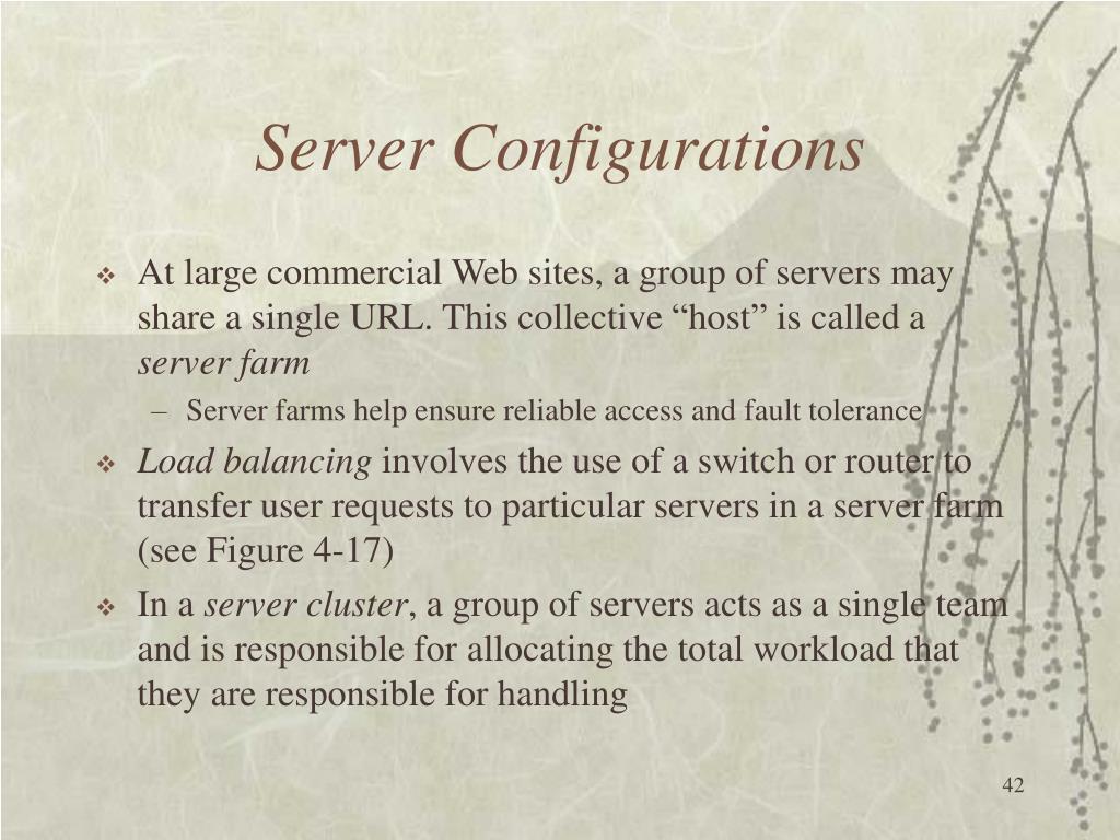 Server Configurations