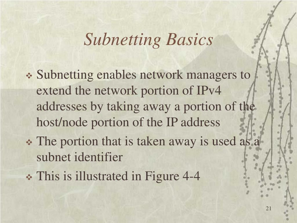 Subnetting Basics