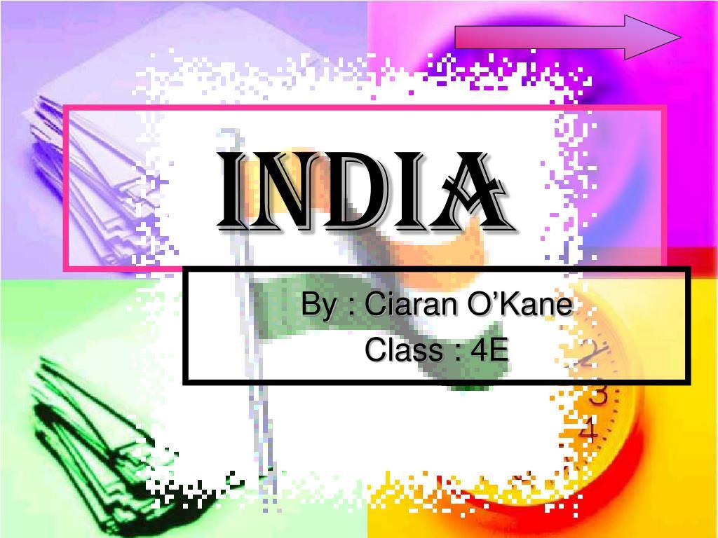 india l.