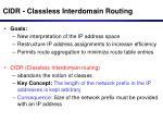 cidr classless interdomain routing25
