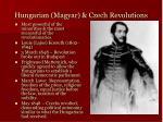 hungarian magyar czech revolutions