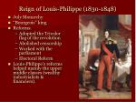 reign of louis philippe 1830 1848