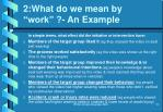 2 what do we mean by work an example