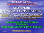 steam plant advisory support centre