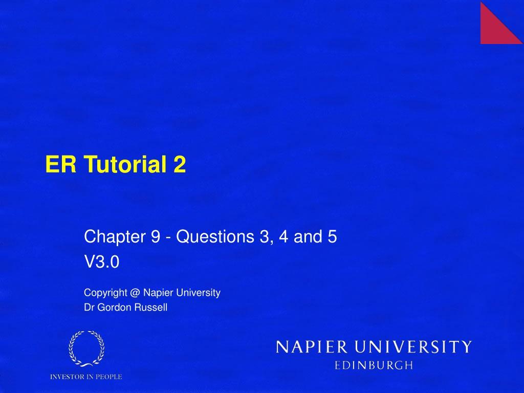 er tutorial 2 l.