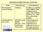 issues for state govts18