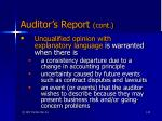 auditor s report cont35