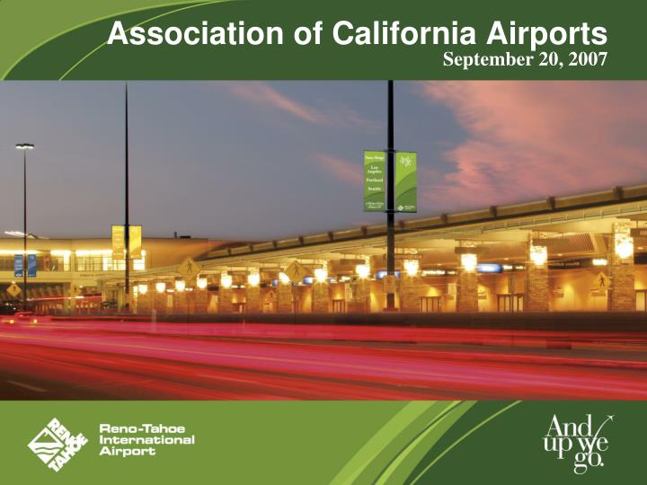 association of california airports n.