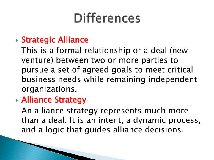 strategic alliance in an organization essay Strategic alliance this research paper strategic alliance and other 64,000+ term papers, college essay examples and free essays are available now on reviewessayscom autor: layla • november 28, 2012 • research paper • 2,498 words (10 pages) • 907 views.
