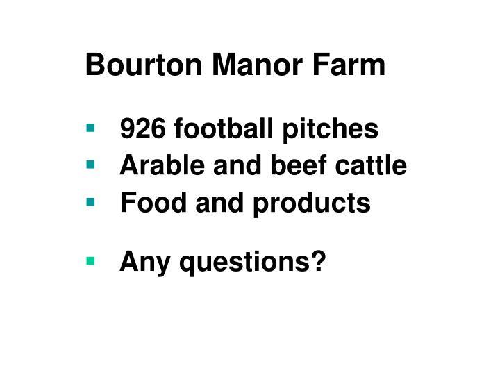 Bourton Manor Farm