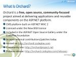 what is orchard