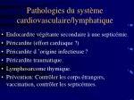 pathologies du syst me cardiovasculaire lymphatique