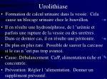 urolithiase